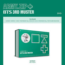 [BTS] ARMY.ZIP+ BTS 3RD MUSTER DVD + Photobook + Storybook + Photocard +Tracking