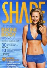 Cardio and Toning EXERCISE DVD - Shape Ultimate Bikini Body Workout 3 Workouts!
