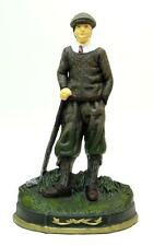 Cast Iron Golfer Doorstop - Great Gift For Any Golfer- 14 Inches