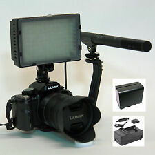Pro VM SC-12L 2A mic camera light F970 2.5mm adapter for Panasonic GX8 FZ300 GH2