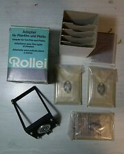 Rollei Biottica adattatore pellicola piana Cut-film adapter BRAND NEW