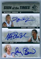 MICHAEL JORDAN/MAGIC JOHNSON/LARRY BIRD 2014-15 SP AUTHENTIC SOTT AUTO SP #2/3