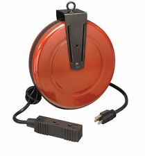 NEW Craftsman Retractable Cord Reel Extension Cord Heavy Duty Reelcraft 30 ft