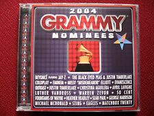 2004 Grammy Nominees, 21 Songs by Original Artists - BMG label CD, Good as New!!