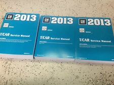 2013 Chevrolet Chevy SONIC Service Shop Repair Manual Set FACTORY NEW