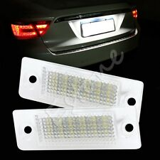 2X Error Free 18-LED License Plate Light For VW Transporter Passat Golf Touran