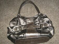 KATHY VAN ZEELAND Designer Purse, Metallic Copper, Silver Accents, KVZ Tote Bag