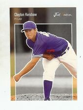 CLAYTON KERSHAW Dodgers #'d 2006 Just Rookies Preview *BLACK* Certified RC 1/50