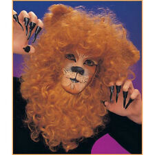Lion Mane Adult Wig Curly Hair Cowardly Wizard Of Oz Courage Costume New