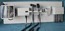 Welch Allyn 767 Integrated Wall Mount Diagnostic System Otoscope Ophthalmoscope