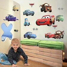 Racing Cars Lighting McQueen Wall Decals Sticker Kids Nursery Room Decor Vinyl s