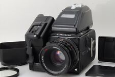 N.Mint Hasselblad 503CW Black 80mm CF A16 Back Winder PME90 Etc. from Japan #o10