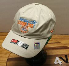 NIKE TENNESSEE LADY VOLS 2003 NATIONAL CHAMPIONS HAT ADJUSTABLE VERY GOOD COND