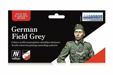 VALLEJO 70.181 Uniforme Allemand gris WWII – German field grey WWII 8x17ml
