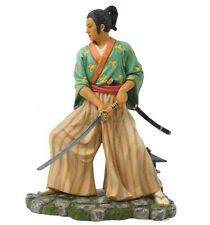 "8"" Japanese Samurai Fighting Sword Collectible Statue Figurine Warrior Oriental"