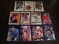 1987-1999 Panini & O-Pee-Chee Hockey---Stickers---Lot Of 11---No Dupes--See List