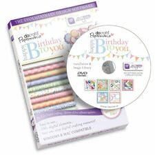 DOCRAFTS PAPERMANIA HAPPY BIRTHDAY TO YOU TEMPLATE DESIGN SOFTWARE - NEW PC/MAC