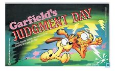 GARFIELD'S JUDGMENT DAY - JIM DAVIS 1990 PAPERBACK 1ST ED/2ND PRINT