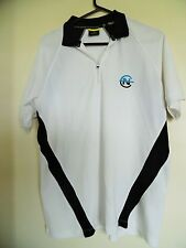 Nautica Competition Men's Short-sleeve Polo Shirt in White Black - Size M