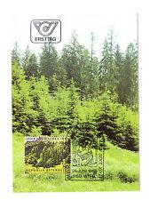 Österreich FDC Ersttagsbrief Karte 1985 Jahr des Waldes Mi.Nr.1819