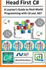 Head First C#, : A Learner's Guide to Real-World Programming with Visual C#...