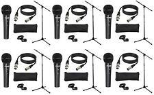6 St. LD Systems MICSET1 Mikrofonset mit Mikrofon Mikrofonständer 5m Mikrokabel