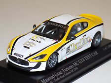 1/43 Minichamps Maserati Gran Turismo MC GT4 Test Car 2010 Necchi Lim to 1008 pc