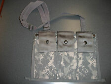 NEW ACU MICHAEL BIANCO- SDS TRIPLE MAG POUCH USA MADE MOLLE BANDOLEER GI ISSUE