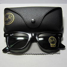 Ray Ban RB2140 Wayfarer 901 Black 50mm Frame G15 Lens Sunglasses New