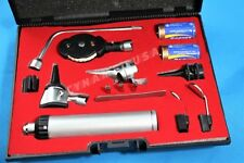 NEW! Incredible ProPhysician Ophthalmoscope Otoscope Diagnostic Set w Hard Case!