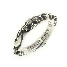 Authentic Chrome Hearts SBT Band Ring US 6 JPN 12 Silver 925 Used F/S
