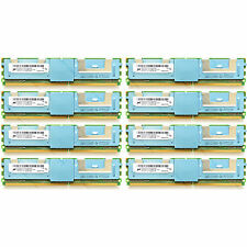 32GB (8x4GB) PC2-5300F DDR2-667MHz ECC Fully Buffered Memory Ram - HP, Dell, IBM