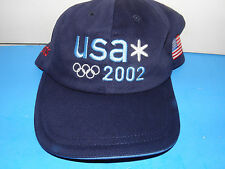 2002 U S Olympic Team Official Roots Logo Hat (NWT)