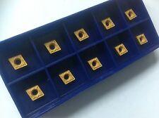 10 x ccmt 060204-hm para acero p25-tin nuevo!!! con factura!!!