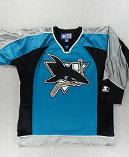 San Jose Sharks STARTER NHL Embroidered Replica Hockey Jersey (Youth L/XL)
