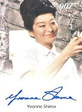 2015 James Bond Archives Yvonne Shima As Sister Lilly Full-Bleed AUTOGRAPH Card!