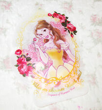 Disney Resort Japan Princess Belle Shower Bath salt Pink Rose Petal Heart Soap