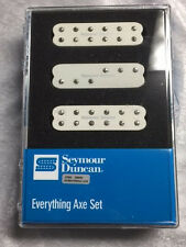 Seymour Duncan Everything Axe Parchment JB Jr, Duckbucker Little 59 Stratocaster
