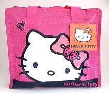 Hello Kitty Handbag Women Purse Manga Girl foldable Lunch Bag Cosmetic Gift Bag