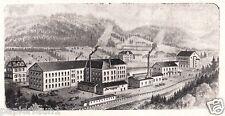 Productos metálicos Büche & lauble Triberg publicitarias de 1921 metal negro bosque publicidad