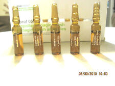 MESOESTETIC ANTIAGING FLASH AMPOULES ..X 5 Immediate Skin- Tensing Effect With C