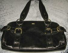 Lovely 100% Genuine Black & Brass JAG Bag - RRP $109 - Hardly Used / Great Cond