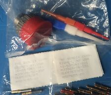 D38999/26KD15SA BENDIX CONNECTOR PLUG 15 POSITION STRAIGHT W/SCKT PINS INCLUDED