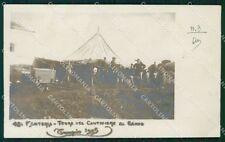 Sassari Tempio Pausania 42º Reggimento Fanteria Militari Foto cartolina QT7802