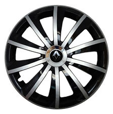 4x15 Wheel trims Wheel covers fit Renault with 15'' wheels black - silver