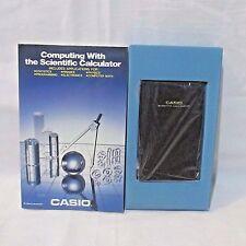 Vintage Collectible Casio fx-411 scientific calculator Solar Power