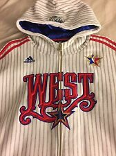 2008 Adidas New Orleans NBA All Star Game West Zip Up Jacket Size 2xl/2ex/2tg