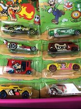 2016 Hot Wheels SUPER MARIO Nintendo Set of all 8 Eight Cars Walmart Exclusive!