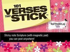 Verses That Stick / Faithgirlz Ser.: 101 Verses that Stick for Girls based on...