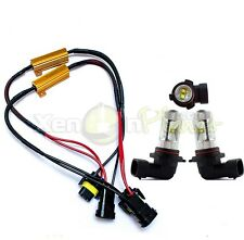 2x HB4 9006 60W CREE LED Spot Fog Light Lamps Bulbs DRL Canbus Error Free 12V